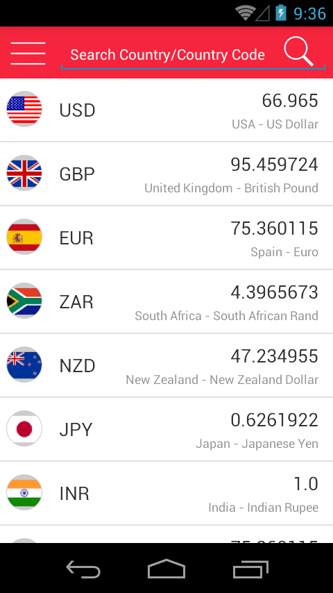 Currency Converter Ads Free Screenshot 8