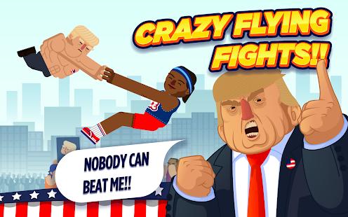 Donald Trump fighting game apk screenshot