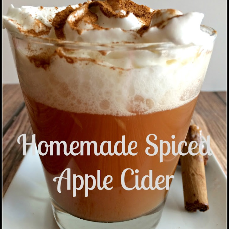 Homemade Spiced Apple Cider Recipe | Yummly