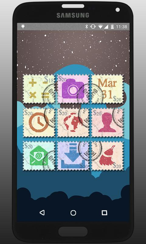 perfect_Stamp - Icon Pack Screenshot 0