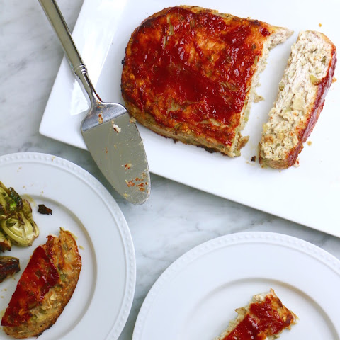 Apple Sage Turkey Meatloaf