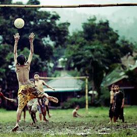 by Cipto Korompot - Sports & Fitness Soccer/Association football