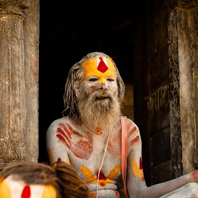 Sadhu by Garrett Dyer - People Body Art/Tattoos ( religion, hindu, meditate, sadhu, nepal )