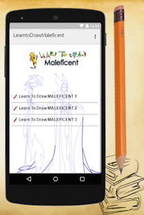 Learn To Draw MALEFICENT - screenshot