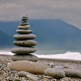 Stacking Stones by Hengkie Kastono - Artistic Objects Other Objects