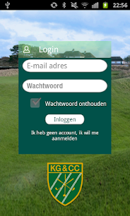 KGCC Club App - screenshot