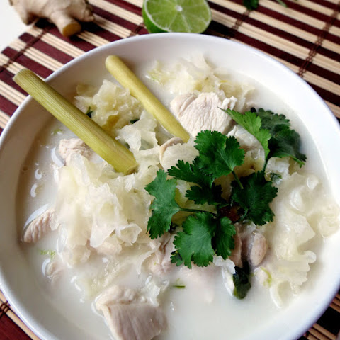 Thai Coconut Milk Soup - Tom Kha Gai