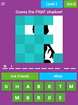 Trivia for FNAF apk screenshot