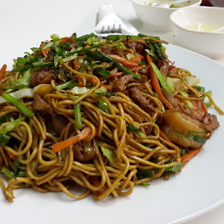 Homemade Chinese Fried Noodles