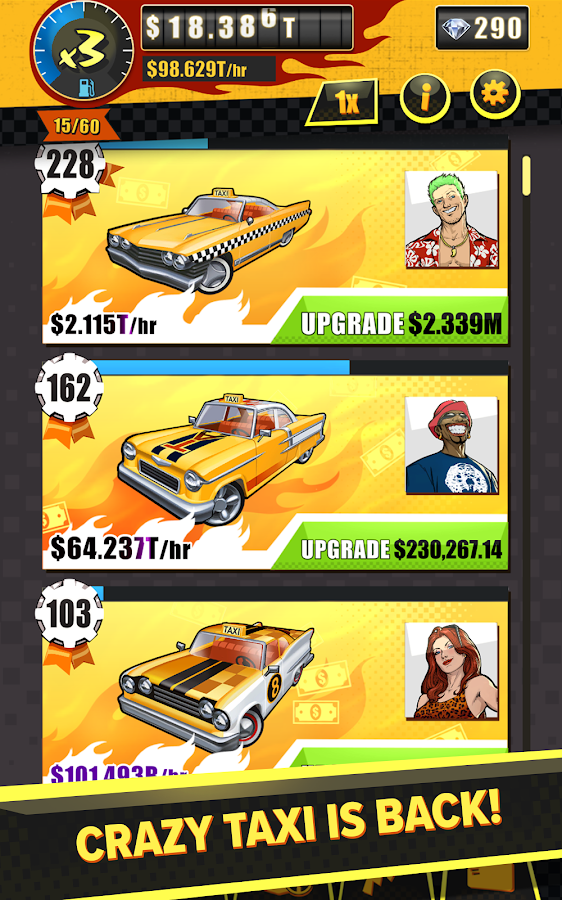 Crazy Taxi Gazillionaire Screenshot 6