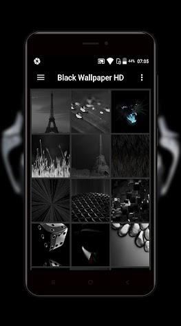 Black Wallpaper Screenshot