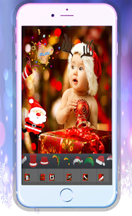 christmas stickers for picture - screenshot
