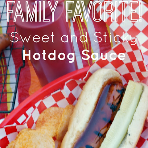 Sweet and Sticky Hotdog Sauce