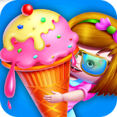 Ice Cream Factory Kids Cooking APK for Bluestacks