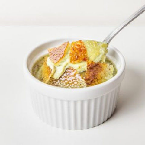 Green Tea Coconut Creme Brulee