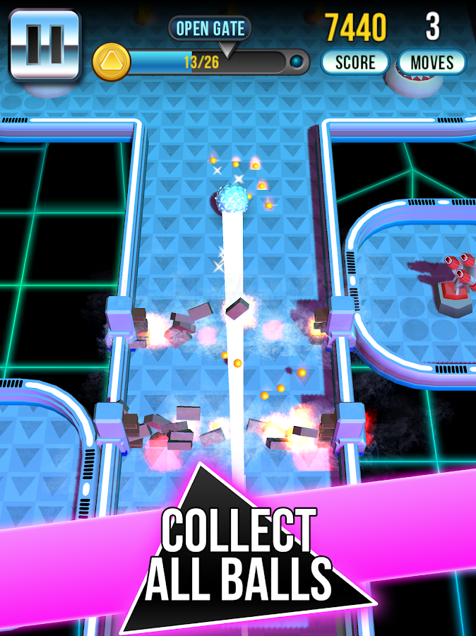 Retro Shot Pinball Puzzle Game Screenshot 5