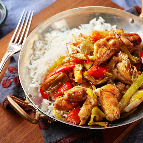 Spicy Chicken And Leek Stir-fry