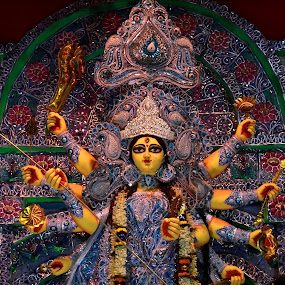 Goddess Durga by Sudipta Mukhopadhyay - Novices Only Objects & Still Life