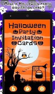 Halloween Party InvitationCard - screenshot