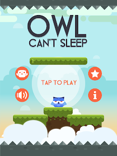 Owl Can't Sleep! Screenshot