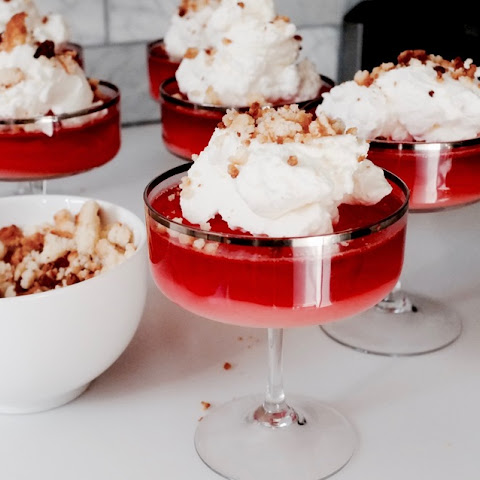 Peanut Butter and Jelly Parfaits