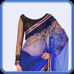 Women Saree Photo Suit For PC (Windows & MAC)