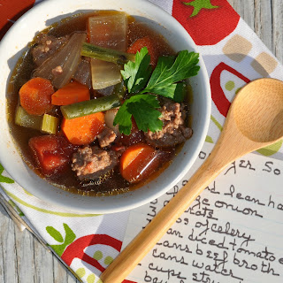 Hamburger Soup With Green Beans Recipes