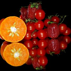 fruits with vegetables by LADOCKi Elvira - Food & Drink Fruits & Vegetables ( fruits )
