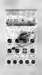 Theme Diamond Silver for Lollipop - Android 5.0