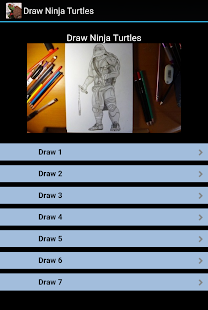 Draw Ninja Turtle Fast - screenshot