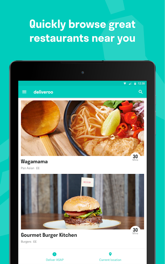 Deliveroo: Restaurant Delivery Screenshot 3