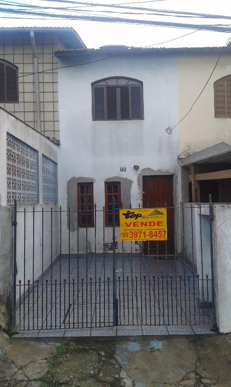 Sobrado residencial à venda, Vila Nova Parada, São Paulo.