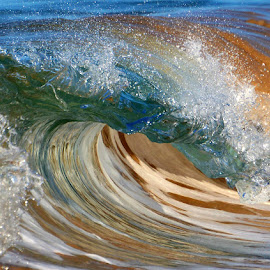 Glass Waves by Jillian Malone - Nature Up Close Water