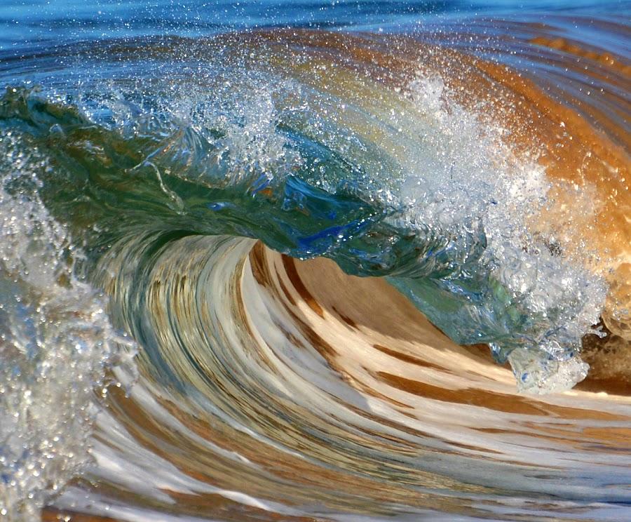 Glass Waves by Jillian Malone - Nature Up Close Water