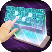 Download Hologram 3D Keyboard Simulated APK to PC