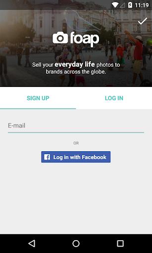 Foap - sell your photos screenshot 1