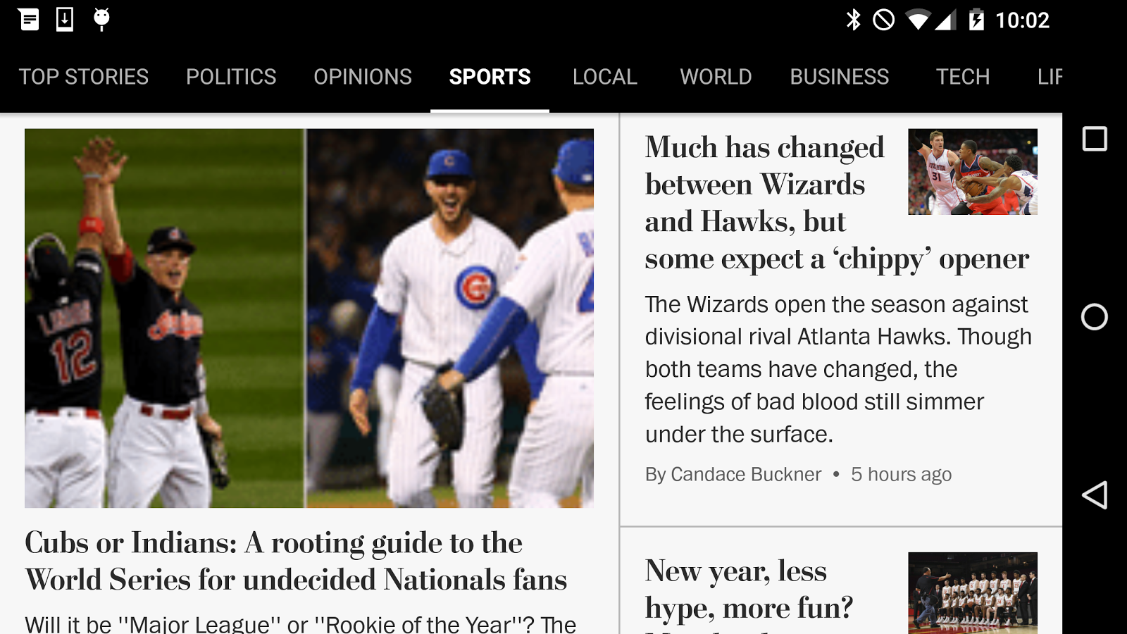 The Washington Post Classic Screenshot 1