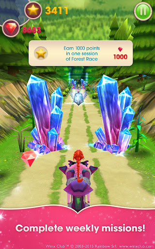 Winx Bloomix Quest - screenshot