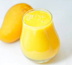 MANGO MILKSHAKE - SWEET AND DELICIOUS DRINK