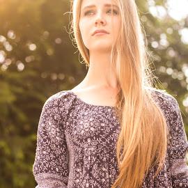 Eduard Labuschagne by Eduard Labuschagne - People Portraits of Women ( natural light, blonde, sunny, outdoor, natural beauty )