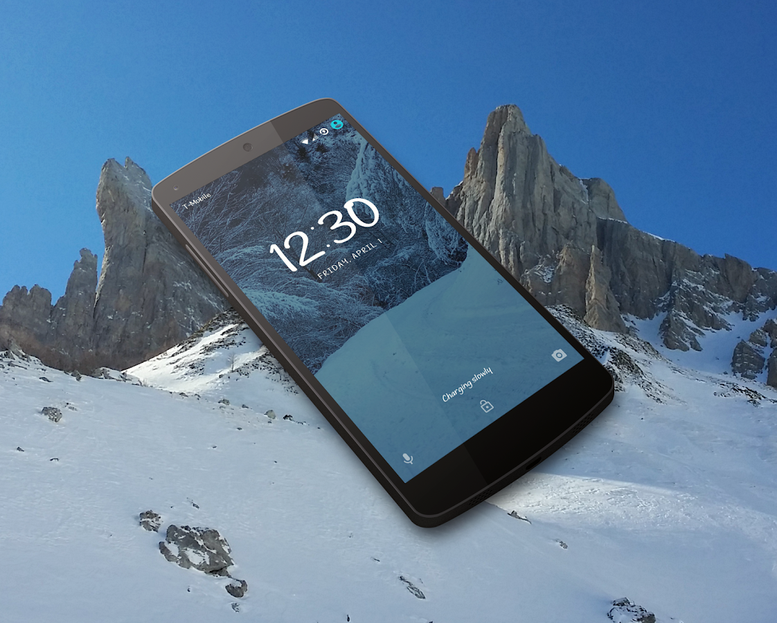IcyPeak CM13 CM12 Theme Screenshot 1