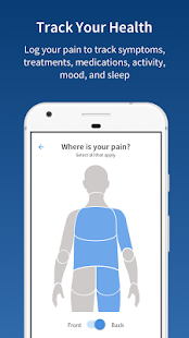 PainScale - Chronic Pain Coach screenshot for Android