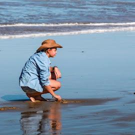 Soft sand. by Susan Pretorius - Babies & Children Children Candids