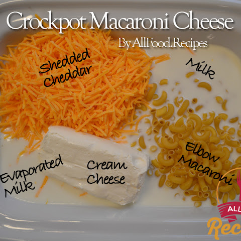 Homemade Crockpot Macaroni Cheese