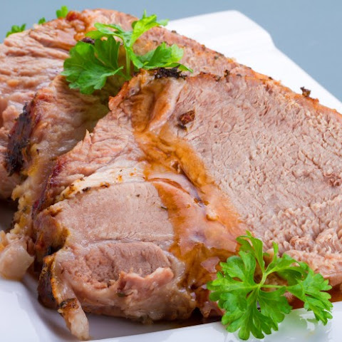 Slow Cooker Peach Pork Tenderloin