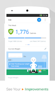 Screenshot of Pedometer & Weight Loss Coach