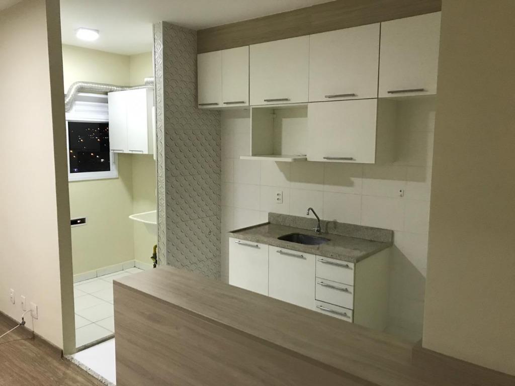 Apartamento com 2 dormitórios para alugar, 57 m² - Condomínio Fatto - Jardim Torres São José - Jundiaí/SP