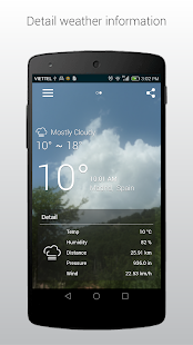iWeather - Weather Forecast - screenshot