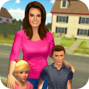 Virtual Mom Babysitter: Family Fun Time Online PC (Windows / MAC)