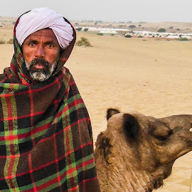 bedouin by Prabhat Kumar - People Portraits of Men ( rajasthan, india, people, portrait )